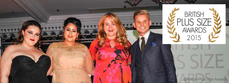 British Plus Size Awards 2015 with Designer Anna Scholz